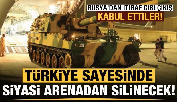 Rusya'dan itiraf gibi çıkış: Türkiye sayesinde siyasi arenadan silinecek!