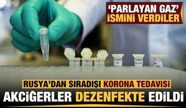 Rusya'dan sıradışı koronavirüs tedavisi: Diğer hastalıkları da iyileştirecek
