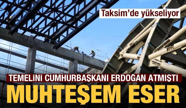 Temelini Erdoğan atmıştı! Atatürk Kültür Merkezi'nden ilk görüntüler
