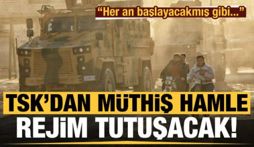 TSK'dan müthiş İdlib hamlesi! Rejimi tutuşturacak gerçek...