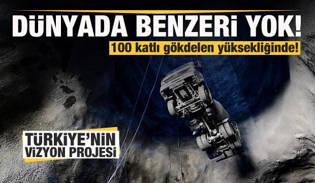Türkiye'nin vizyon projesi! 100 katlı gökdelen yükseliğinde...