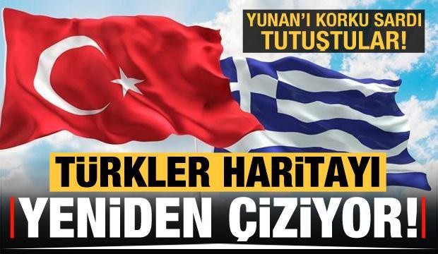Yunan tutuştu! 'Türkler haritayı yeniden çiziyor'