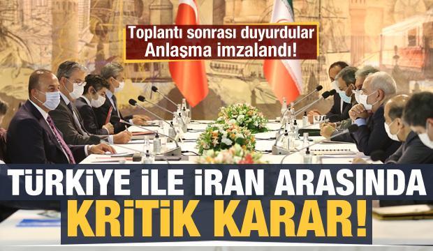Türkiye ile İran'dan kritik karar!