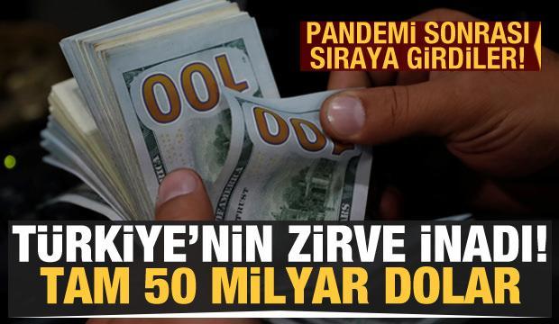 Türkiye'nin zirve inadı! 50 milyar dolarlık hamle