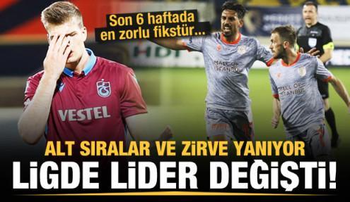 Süper Lig alev alev! İşte son 6 hafta ve puan durumu
