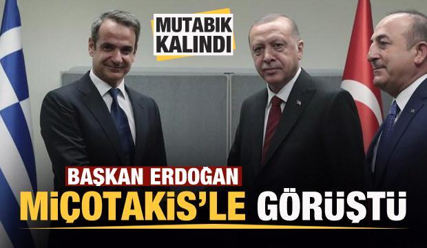 Başkan Erdoğan, Yunanistan Başbakanı ile görüştü