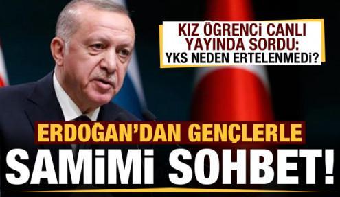 Başkan Erdoğan'dan YKS açıklaması!