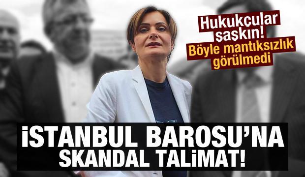 CHP, hukuksuzluğa İstanbul Barosu'nu alet etmeye çalışıyor