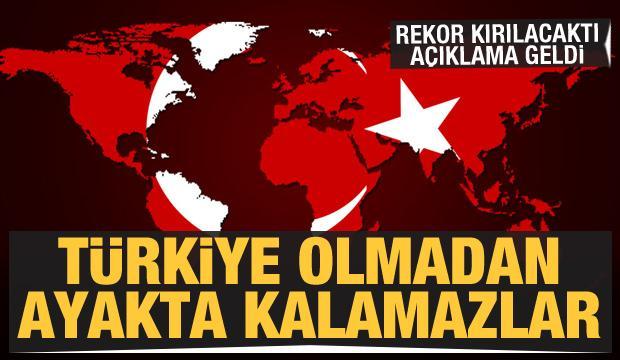 Dikkat çeken açıklama: Türkiye olmadan ayakta kalamazlar