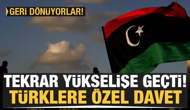 Libya'dan Türklere özel davet! Tam 19 milyar dolar...