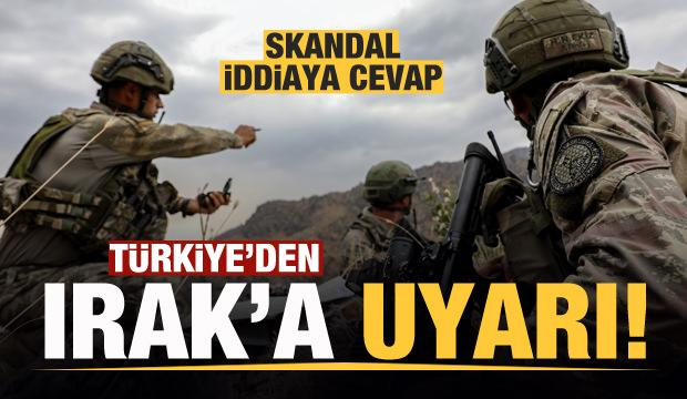 Skandal iddianın ardından Türkiye'den Irak'a uyarı!