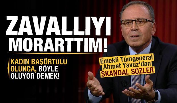 Tümgeneral Ahmet Yavuz'dan Özlem Zengin'e çirkin sözler!