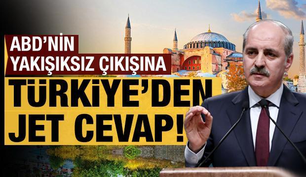 ABD'nin yakışıksız çıkışına Türkiye'den jet cevap!