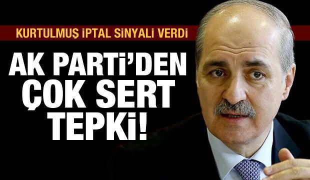 AK Parti'den 'İstanbul Sözleşmesi' tepkisi