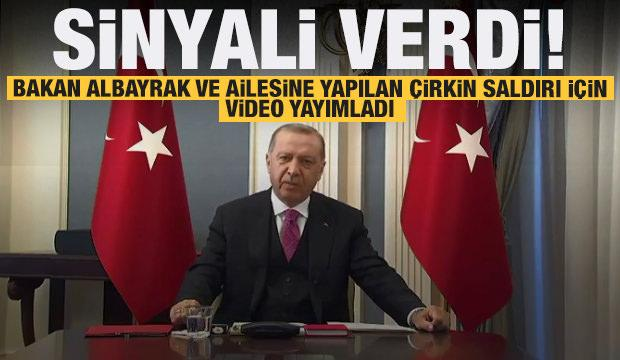 Erdoğan, Bakan Albayrak ve ailesine yapılan çirkin saldırı hakkında konuştu