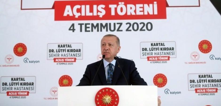 Başkan Erdoğan: İddia ediyorum Avrupa'da 1 numara...