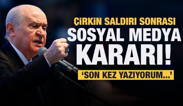 Erdoğan'ın sözleri çarpıtılmıştı! Bahçeli'den son dakika sosyal medya kararı