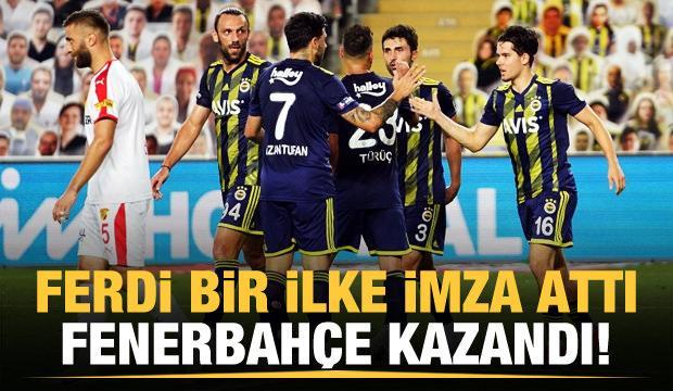 Fenerbahçe'yi Ferdi Kadıoğlu sırtladı!