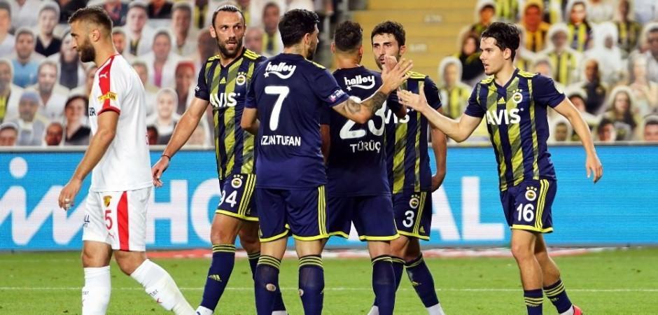 Fenerbahçe'nin muhtemel Gençlerbirliği ilk 11'i
