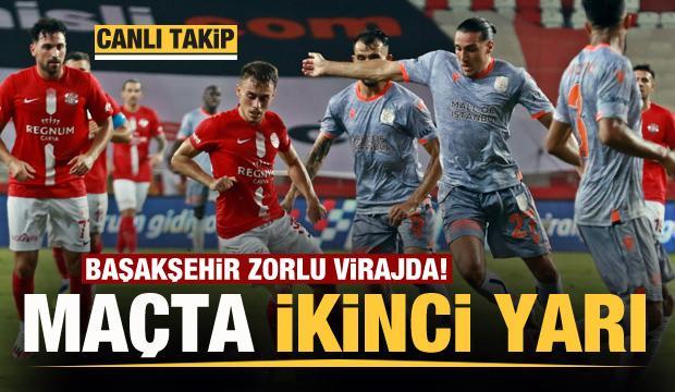 Lider Başakşehir kritik virajda!  Maçta ilk gol