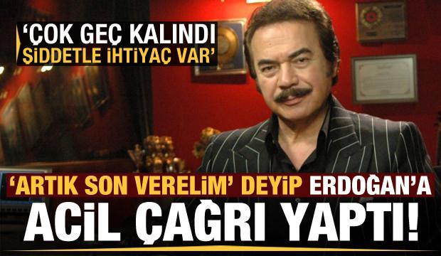 Orhan Gencebay 'şiddetle ihtiyaç var' deyip Erdoğan'a çağrı yaptı!