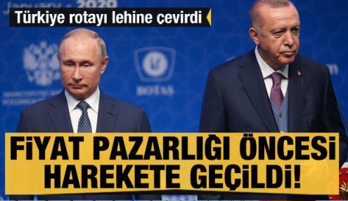 Rusya ile fiyat pazarlığı öncesi harekete geçildi! Türkiye rotayı lehine çevirdi