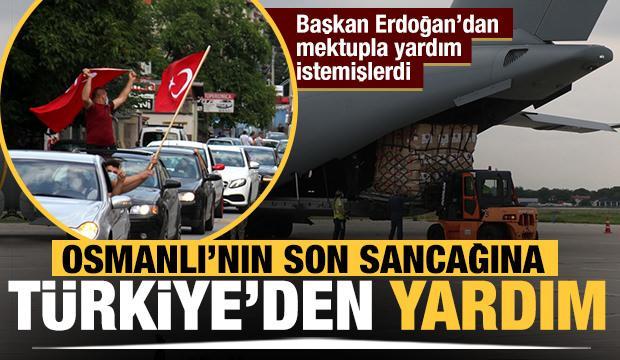Sancaklı Müslümanlara Türkiye'den yardım