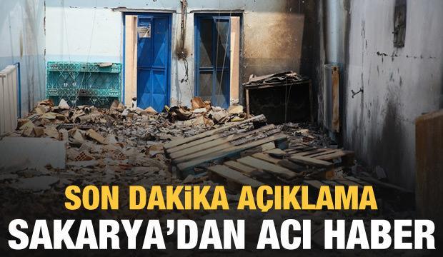 Son dakika açıklama: Sakarya'dan acı haber