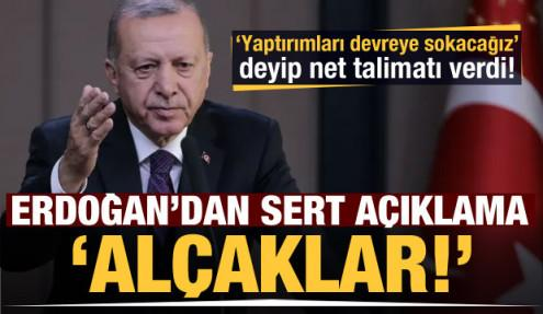 Erdoğan'dan çok sert açıklama: Kalbi kararmış alçaklar!