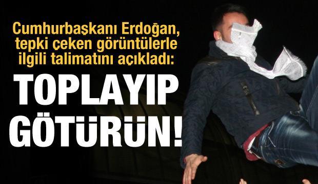 Son dakika haberi! Erdoğan valiye talimatını açıkladı: Toplayın götürün dedim