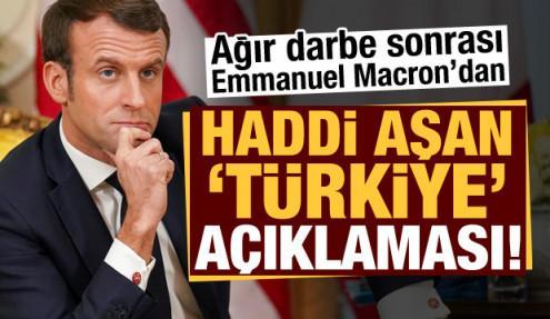 Son dakika: Macron'dan ağır darbe sonrası haddi aşan Türkiye açıklaması!
