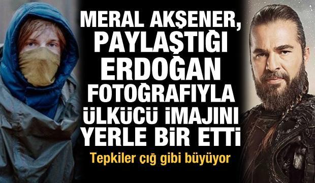 Tepkiler çığ gibi! Akşener, paylaştığı Erdoğan fotoğrafıyla ülkücü imajını yerle bir etti