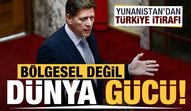 Yunanistan'dan Türkiye itirafı: Bölgesel değil dünya gücü