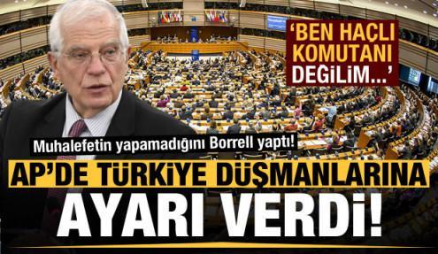 AP'de Türkiye'yi düşman görenlere ağzının payını verdi: Haçlı seferi zamanı değil!