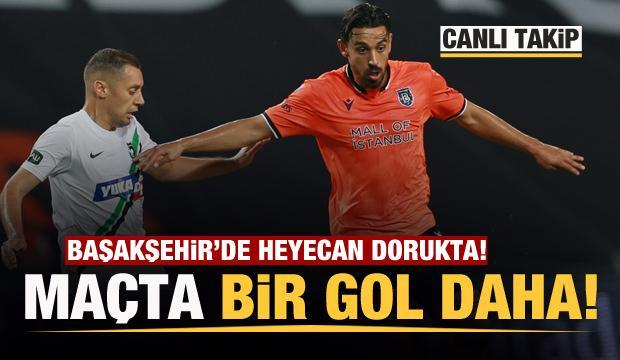 Başakşehir'de büyük heyecan! Maçta bir gol daha!