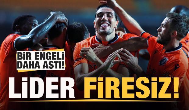 Lider Başakşehir firesiz devam!