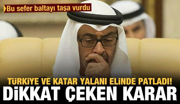 Bu sefer baltayı taşa vurdu! Türkiye ve Katar yalanı elinde patladı, dikkat çeken karar