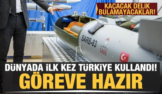 Dünyada ilk kez Türkiye kullandı! Kaçacak delik bulamayacaklar