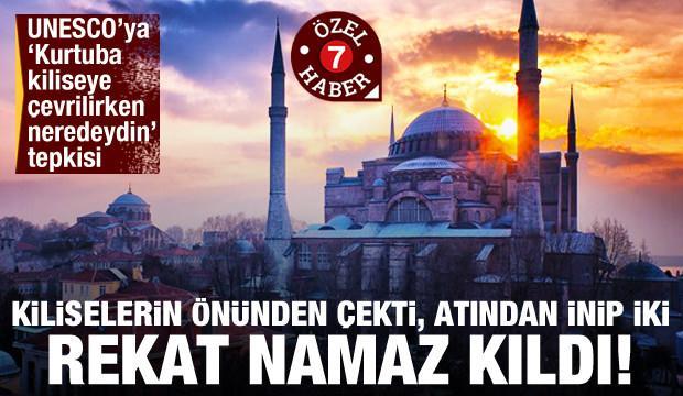 Fatih'in vakfiyesi, İstanbul'un duası: Ayasofya'nın cami olarak yeniden açılması