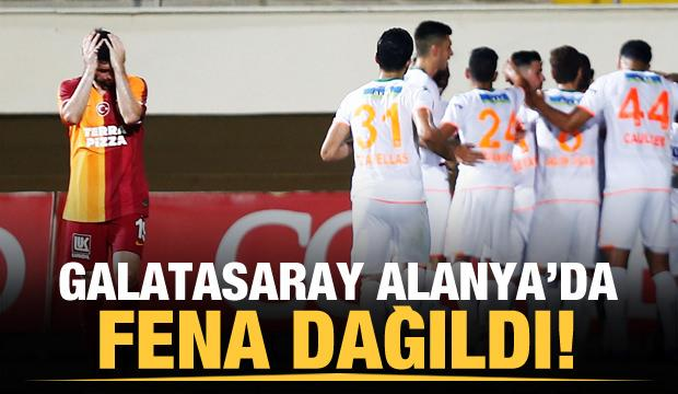 Galatasaray Alanya'da fena dağıldı!