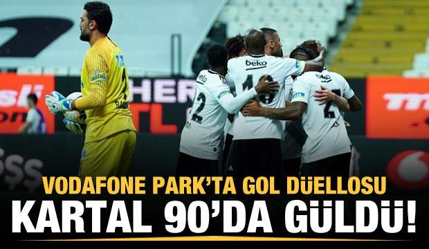 Gol düellosunda kazanan Beşiktaş!