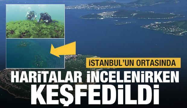 Haritalar incelenirken keşfedildi! İstanbul'un batık adası: Vardonisi