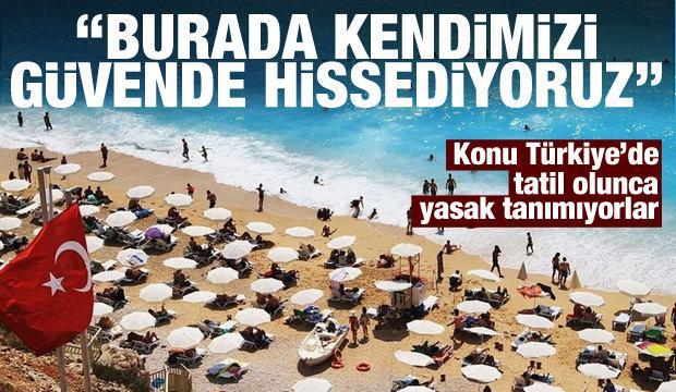Hollandalı turistler Türkiye'den vazgeçemiyor: Burada güvendeyiz!