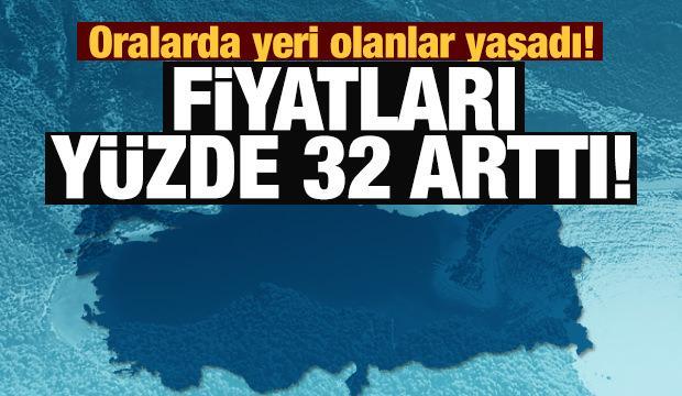 İşte Türkiye'nin en çok değerlenen yazlık beldeleri