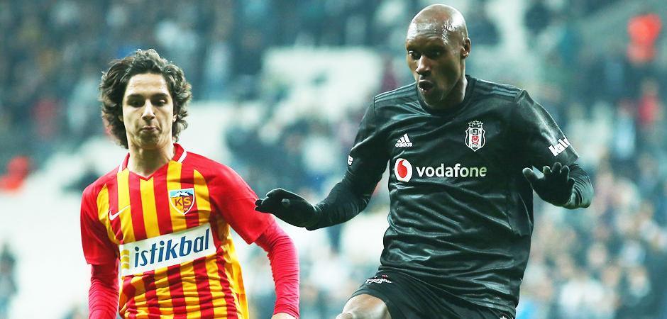 Kayserispor - Beşiktaş! İlk 11'ler belli oldu