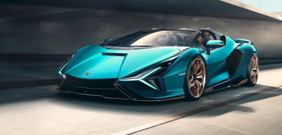 Lamborghini Sion Roadster görücüye çıktı!