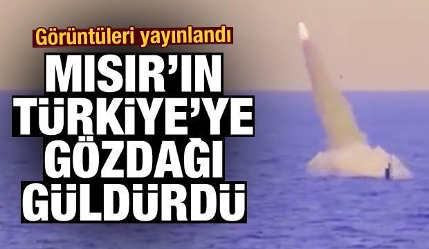 Mısır'ın Türkiye'ye gözdağı güldürdü