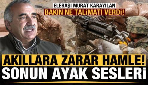 PKK sona geldi! Akıllara zarar hamle, Karayılan talimat verdi...