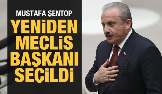 Son dakika haberi: Mustafa Şentop yeniden Meclis Başkanı seçildi