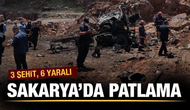 Son Dakika: Sakarya Adapazarı'nda şiddetli patlama! Şehit ve yaralılar var...